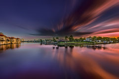 Wschód słońca przy Naples, Floryda Obrazy Royalty Free