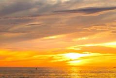 Wschód słońca przy Pagudpud Fotografia Royalty Free