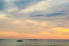Wschód słońca przy Pagudpud Obrazy Royalty Free