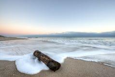 Wschód słońca przy przylądka Canaveral obywatela Seashore zdjęcia stock