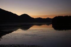 Wschód słońca przy Tofino Zdjęcia Stock