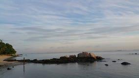 Wschód słońca przy Turi miejscowością nadmorską Obraz Royalty Free