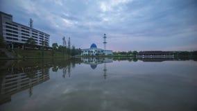 Wschód słońca Przy UNITEN meczetem Putrajaya zbiory