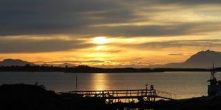 Wschód słońca przy Vega Zdjęcia Stock