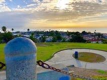 Wschód słońca San Pedro Kalifornia obrazy royalty free