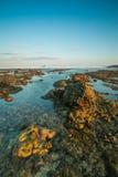 Wschód słońca sceneria Fotografia Stock