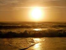 Wschód słońca sylwetka Obrazy Royalty Free