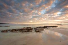 Wschód słońca Szkockie skały Australia Obraz Royalty Free