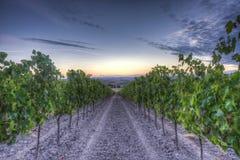 wschód słońca Tuscany obrazy royalty free