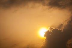 Wschód słońca w Afryka Zdjęcie Royalty Free