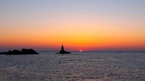 Wschód słońca w Ahtopol Zdjęcia Royalty Free
