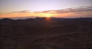 Wschód słońca w dolinie obrazy stock