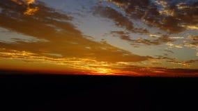 Wschód słońca w Gauteng Zdjęcia Royalty Free