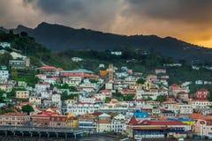 Wschód słońca w Grenada Fotografia Royalty Free