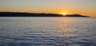 Wschód słońca w Majorca wyspie, Hiszpania Obraz Stock
