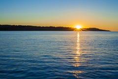 Wschód słońca w Majorca wyspie, Hiszpania Zdjęcie Royalty Free