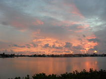 Wschód słońca w Maratońskim Floryda  kluczu Zdjęcie Stock