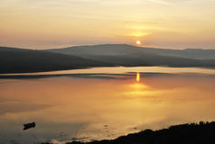 Wschód słońca w pięknym Irlandia Obraz Royalty Free