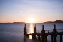 Wschód słońca w Rawai Obraz Royalty Free