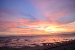 Wschód słońca w sen Zdjęcia Royalty Free