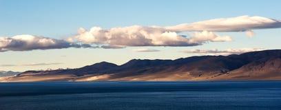 Wschód słońca w Tybet Plateau Zdjęcie Royalty Free