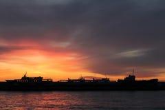 Wschód słońca w Yalta Fotografia Royalty Free