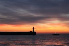 Wschód słońca w Yalta Zdjęcia Royalty Free