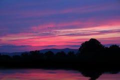 wschód słońca zmierzch obrazy stock