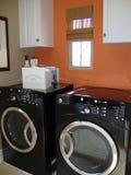 Wäscherei-Raum Stockfoto