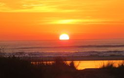 Wschodów słońca kolory Zdjęcia Stock