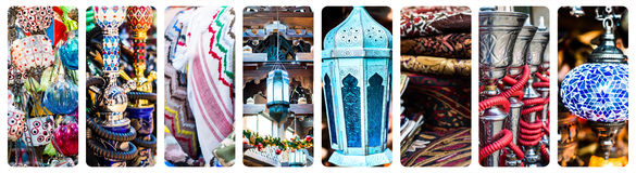 Wschodni bazar Fotografia Royalty Free