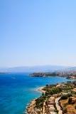 Wschodni Cretan wybrzeże Obraz Royalty Free