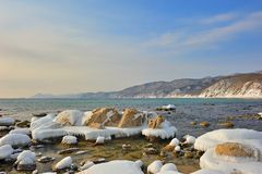 wschodni daleko krajobrazowy morze Fotografia Stock