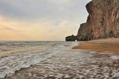 wschodni daleko krajobrazowy morze Obrazy Royalty Free