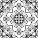 Wschodni elegancja ornament ilustracji