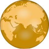 wschodni globe hemi Fotografia Royalty Free