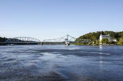 Wschodni Haddam Huśtawkowy most Obrazy Stock