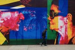 Wschodni Harlem malowidło ścienne Zdjęcia Stock