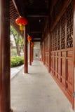 Wschodni korytarz przed budynkiem zdjęcie royalty free