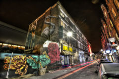 Wschodni Londyńscy graffiti Obrazy Royalty Free