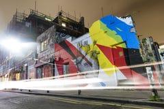 Wschodni Londyńscy graffiti Obrazy Stock