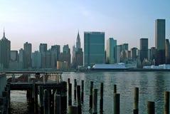 wschodni Manhattan nowy boczny górny York Zdjęcie Stock