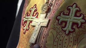 Wschodni Ortodoksalny ksiądz zdjęcie wideo