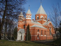 wschodni ortodoksyjny do kościoła obraz royalty free