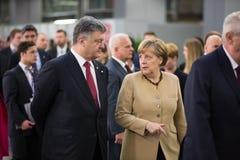 Wschodni partnerstwo Sammit w Ryskim, 2015 Obraz Stock