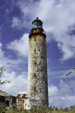 Wschodni punkt - jeden cztery latarni morskiej w Barbados zdjęcia stock