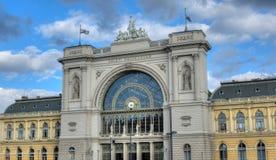 Wschodni Railwaystation w Budapest Obrazy Stock