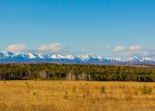 wschodni terenu ilchir lokalizować okinsky plateau Russia sayan Obraz Stock