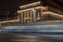 Wschodni wejście główny dworzec w Leipzig zdjęcie royalty free