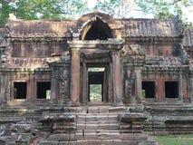 Wschodnia brama Angkor Wat, Siem Przeprowadza żniwa Obraz Stock